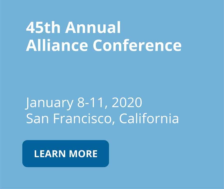 45th annual alliance conference on january 8-11 2020